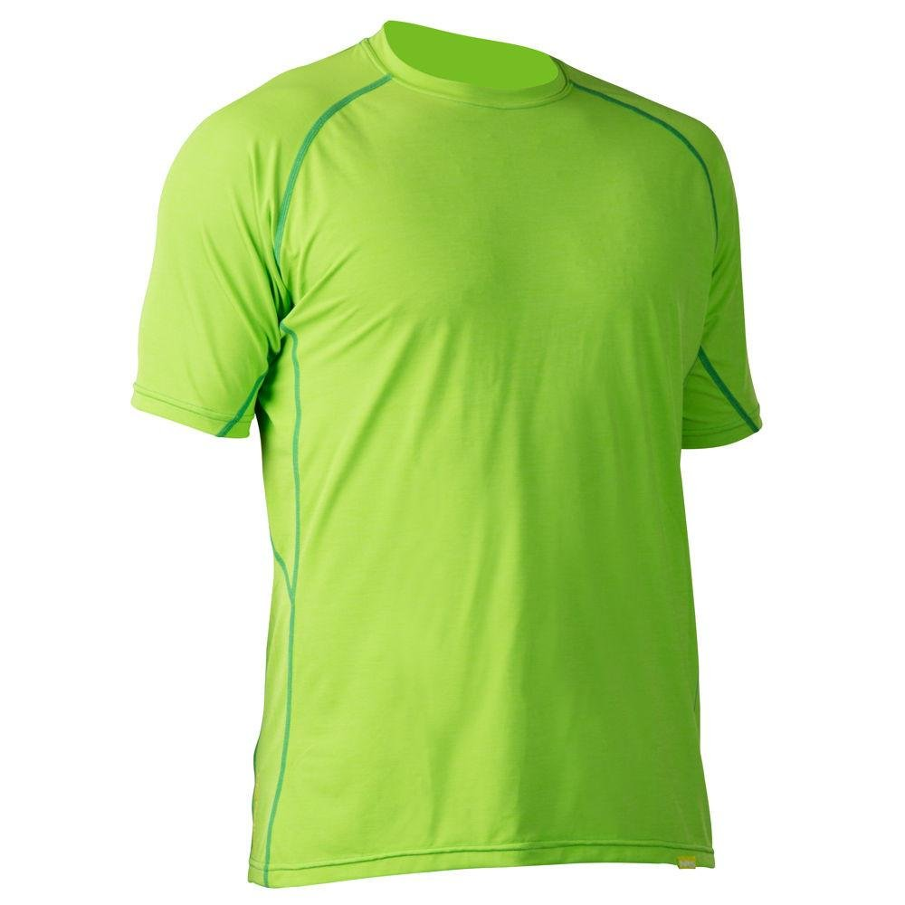 NRS h2core Silkweight SSシャツ – メンズ B016NREU7C Large|Spring Green Heather Spring Green Heather Large