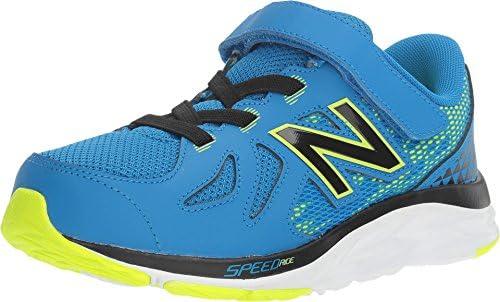 New Balance Kids Boy's 790v6 (Little Kid) Blue/Green Athletic Shoe ...