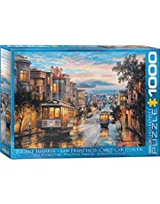 San Francisco Cable Car Heaven by Eugene Lushpin 1000-Piece Puzzle