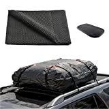 ONEST Car Roof Cargo Carrier Protective Mat, Non-slip Roof Rack Pad Work with Roof Rack Crossbar Basket Roof Box Bag Luggage Carrier for Truck SUV Car Van Sedan (39''x36'')
