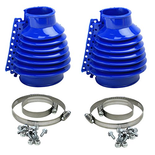 Empi 00-9980-0 VW Bug, Beetle, Baja, Buggy, Type 1 Deluxe Swing Axle Boot, Blue, Pair