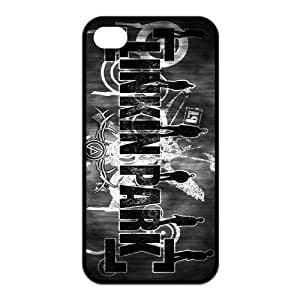iPhone 4/4S Case, Linkin Park Hard TPU Rubber Snap-on Case for iPhone 4 / 4S