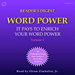 Reader's Digest Word Power, Volume 1: 100 Challenging Words from America's Most Popular Magazine | William Funk,Judith Cummings,Cecilia Fannon