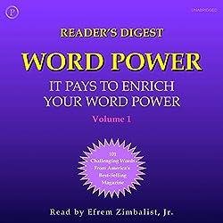 Reader's Digest Word Power, Volume 1