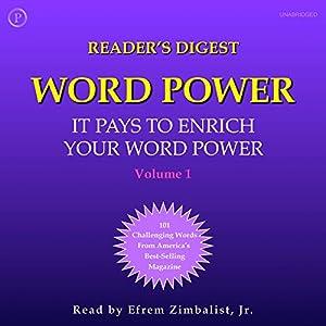 Reader's Digest Word Power, Volume 1 Audiobook