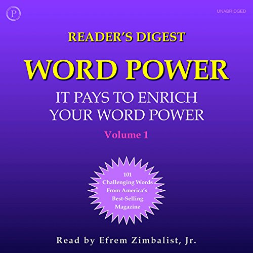 Reader's Digest Word Power, Volume 1: 100 Challenging Words from America's Most Popular (Most Popular Magazines)