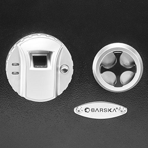 Barska Biometric Wall Safe, Black by BARSKA (Image #3)