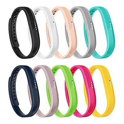 AK Bands for Fitbit Flex 2, Adjustable Sports Fitness Accessories Replacement Wristbands for Fitbit Flex 2 Bands
