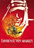 Lawrence of Arabia Poster German 27x40 Peter O'Toole Omar Sharif Anthony Quinn