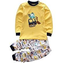 Smgslib 2pcs Baby Boy Clothes Set Infant Outfits Toddler Shirt + Pants
