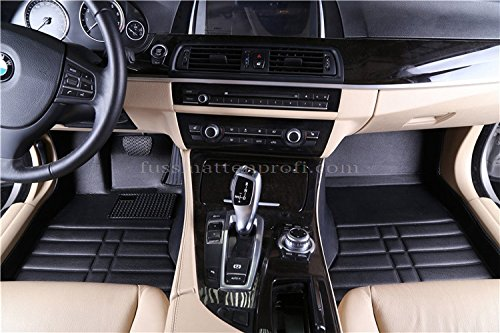 fussmattenprofi.com Tapis de Sol Voiture 3D Premium sur Mesure Adapt/é pour Renault Captur Depuis 2013
