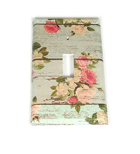 Single Toggle Light Switch Plate in Country Girl (101S)