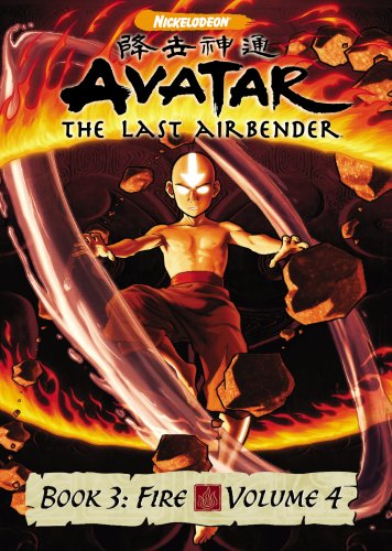 DVD : Avatar The Last Airbender - Book 3 Fire, Vol. 4