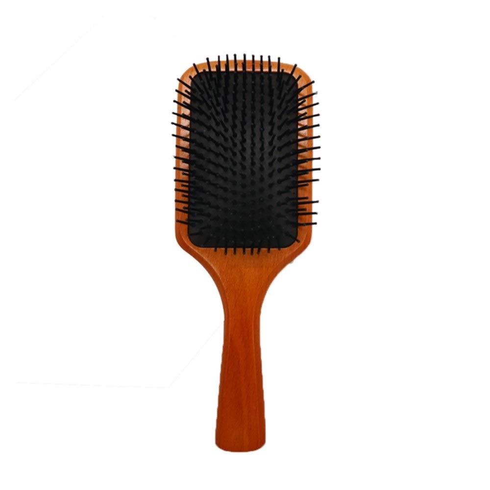 Drametree Wooden Comb Massage Comb The Airbag Cushion Comb Curly Hair Smooth Hair Comb Massage Antistatic Wooden Combs Not Knot by Drametree