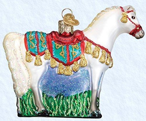 Old World Christmas Glass Blown Ornament Arabian Horse