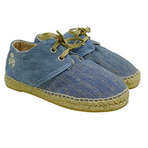 Scalpers Zapatos Niño Alpargatas Espadrilles Color Power Kid Azul 34: Amazon.es: Zapatos y complementos