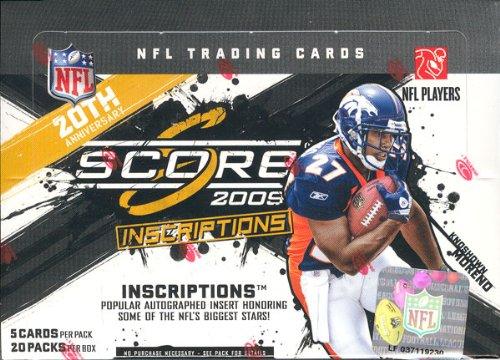 - 2009 Score Inscriptions Football Hobby Box - NFL Football Cards