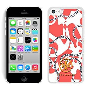 Fahionable Custom Designed iPhone 5C Cover Case With Tory Burch 18 White Phone Case