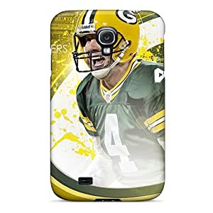 Galaxy S4 Case Cover - Slim Fit Tpu Protector Shock Absorbent Case (green Bay Packers) by icecream design