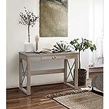 Homy Casa Vintage Style Home Hallway Living Room Bedroom Console Table Size Board Computer Desk
