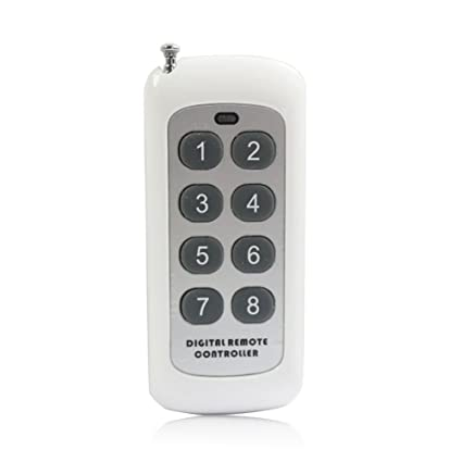 KT-G3-KP Wireless Keyfob Remote Control for KT-G3 4G GSM Relay Switch to  Turn ON/Off Relay Locally