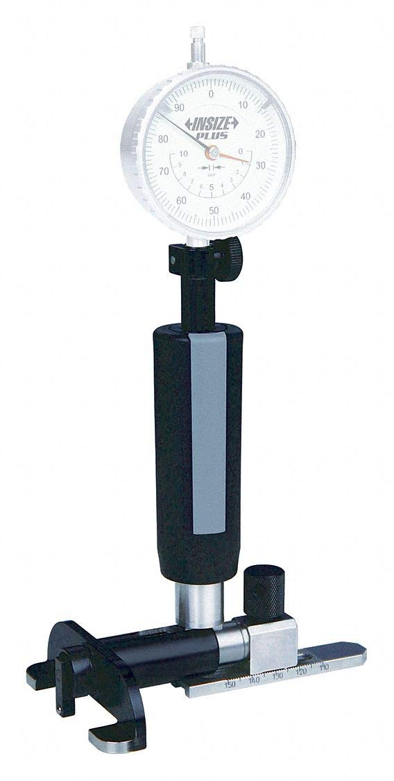 Dial Bore Gage.8-2.0 Measuring Range in. 0.01mm Graduations