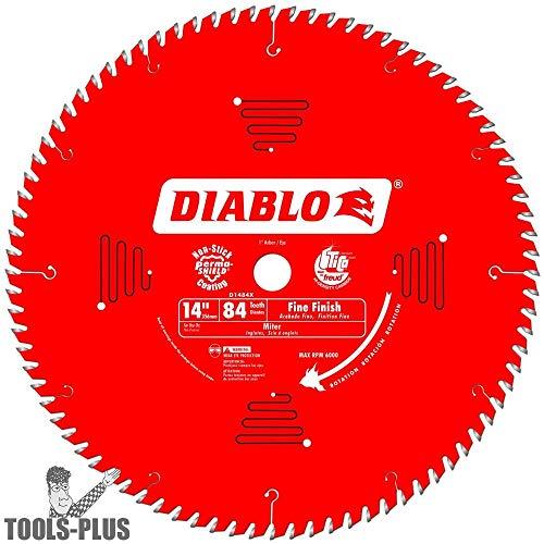 (Diablo D1484X Freud Fine Finish Saw Blade 14