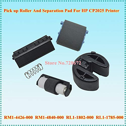 - Yoton RL1-1802-000 RM1-4426-000 Pickup Roller + RM1-4840-000 RL1-1785-000 Separation Pad for HP CP2025 PRO 400 Printer