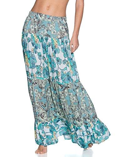 Maaji Women's Tropic Terrain Long Skirt Multicolor Medium by Maaji