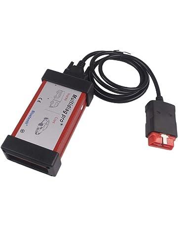 heresell Diagnóstico por Bluetooth, Elegante Programa Multifuncional de diagnóstico de compatibilidad Multidiag Pro y LED