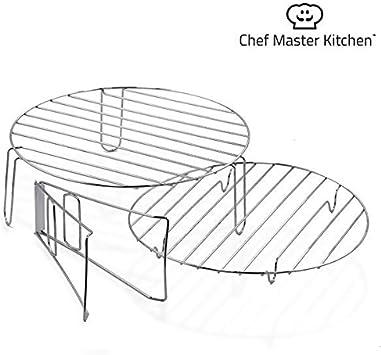 qtimber Horno de Convección Chef Master Kitchen 37 x 37 x 37 cm pentola multifunzione: Amazon.es: Hogar