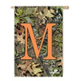 Cheap Evergreen Flag & Garden 13S3045M Monogram Letter M Vertical Flag