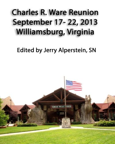 Price comparison product image Charles R. Ware Reunion,  September 17-22,  2013: Williamsburg,  Virginia