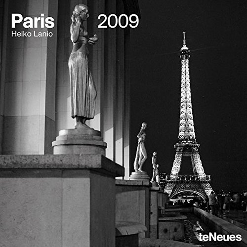 2009 Paris Wall Calendar (Paris 2009 Wall Calendar)