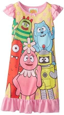 Komar Kids Little Girls'  Yo Gabba Nightgown, Pink, 4T