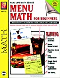 Menu-math for beginners