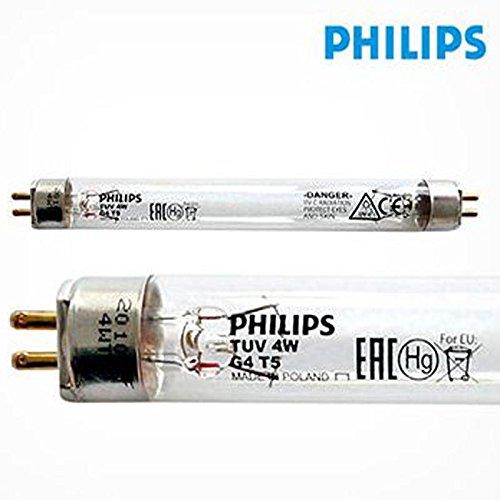 Philips TUV 4W G4T5 Lamp bulb Tube Short Wave Germicidal Ultra Violet UV Filter (Uv Shortwave Lamp)