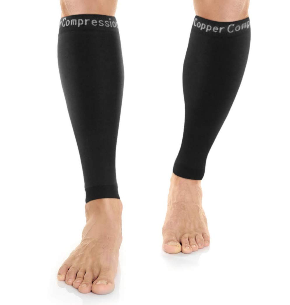 ویکالا · خرید  اصل اورجینال · خرید از آمازون · Copper Compression Recovery Calf Sleeves - Shin Splint Leg Sleeves. GUARANTEED Highest Copper Content + Graduated Compression. Great For Running & Sports! Support Sore Muscles & Joints. (1 PAIR) wekala · ویکالا