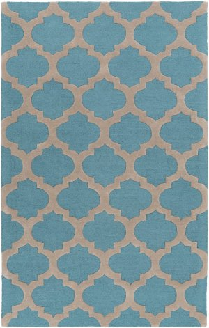 Centennial CNT1100 Area Rug in Olive, Teal