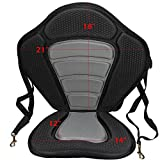Kayak Seat Pad Back Rest With Detachable