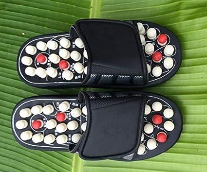 8f22d42abb0e1 Amazon.com: Lannmart Foot Massage Slippers Shoes Health Sandal ...