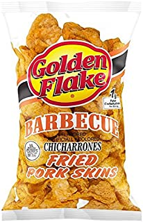 product image for Golden Flake Snack Foods Barbecue Flavored Fried Pork Skins 3 oz. Bag (3 Bags)