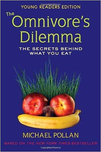 michael pollan omnivores dilemma thesis