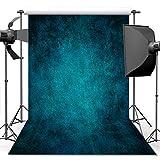 econious Photography Backdrop, 5x7 ft Retro Art Blue Portrait Backdrop for Studio Props Photo Backdrop