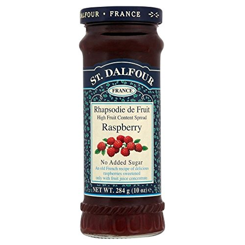 St. Dalfour Rhapsodie de Fruit Raspberry Jam No Added Sugar (St Dalfour Raspberry Fruit)