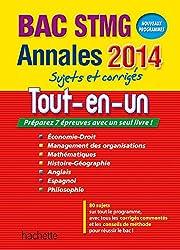 Annales Bac 2014 - Tout en un Terminale STMG