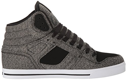 Zapatos Osiris Limited Edition Clone Negro-gris-Knit