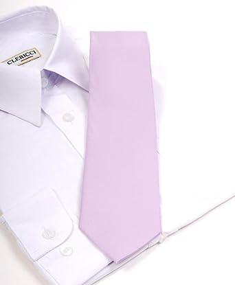 Solid Light Pink Boys Necktie