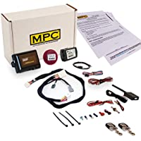 MPC Complete 2 Way Remote Starter Kit for Honda Civic [2016-2017] Prewired for Easy Install - Includes Flash Link Updater