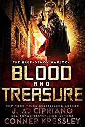 Blood and Treasure: An Urban Fantasy Novel (The Half-Demon Warlock Book 3)
